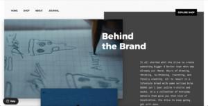 tendencia de diseño web cuadricula rota